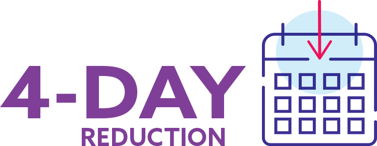 4-day reduction